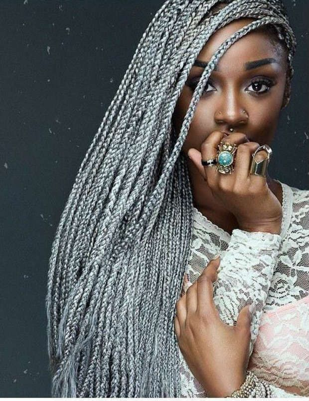 seven box braid color ideas we dare you to try tresses