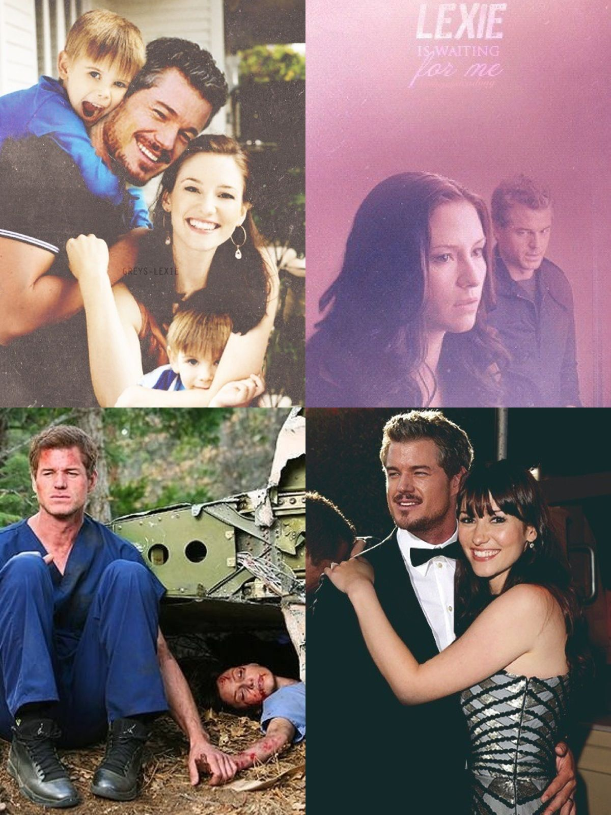 In loving memory of Mark Sloan and Lexie Grey. #Slexie #ThisHurts ...