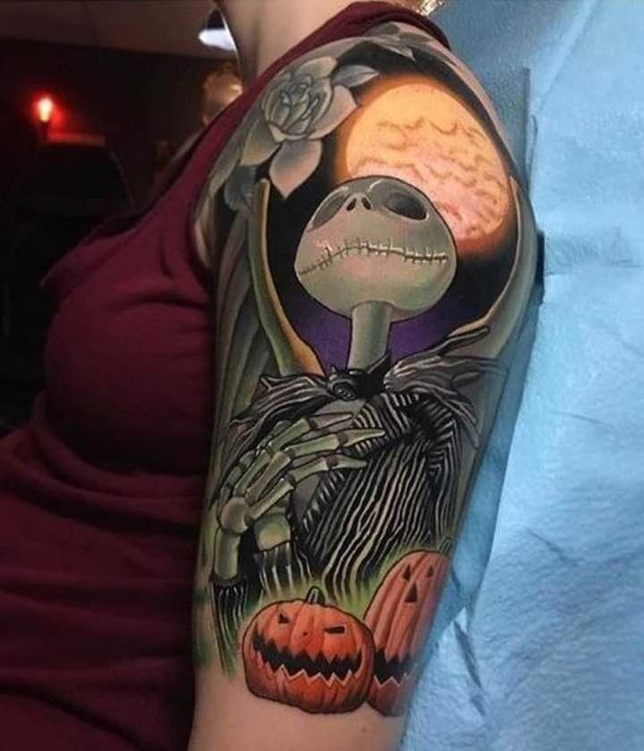 Pin by Migu3l🤠 on Tatts in 2020 | Disney sleeve tattoos ...