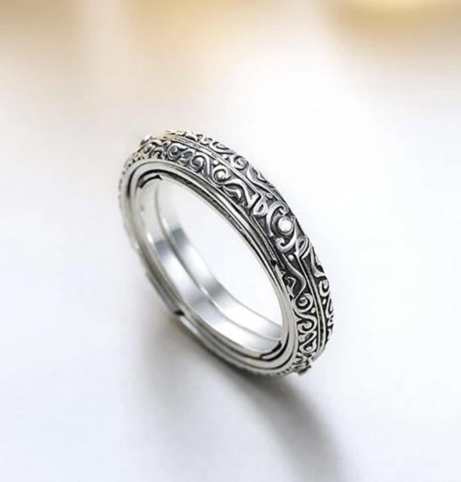 Handmade Sphere Spinner Ring in 2020 Spinner rings