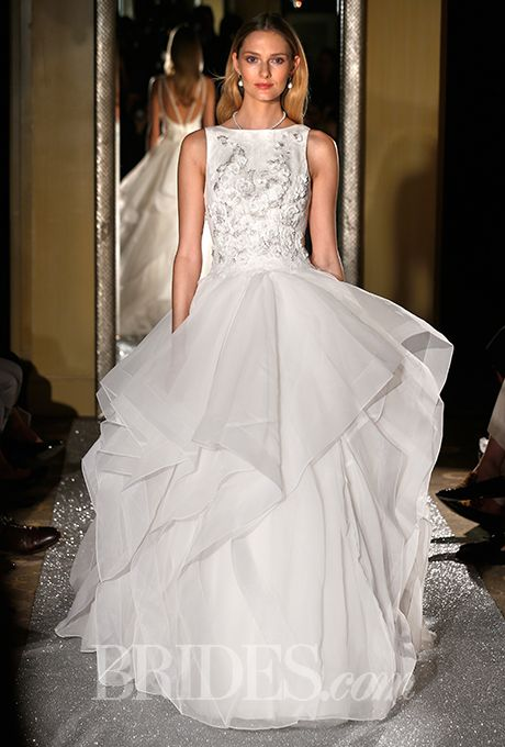 Oleg Cassini - Fall 2015 | Wedding dress, Ballgown wedding dress and ...