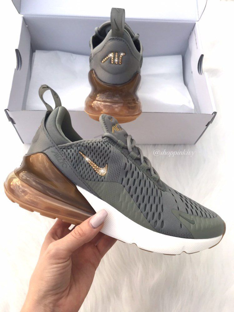undefeated x so cheap biggest discount Swarovski Nike Air Max 270 Shoes Blinged Out With Swarovski ...