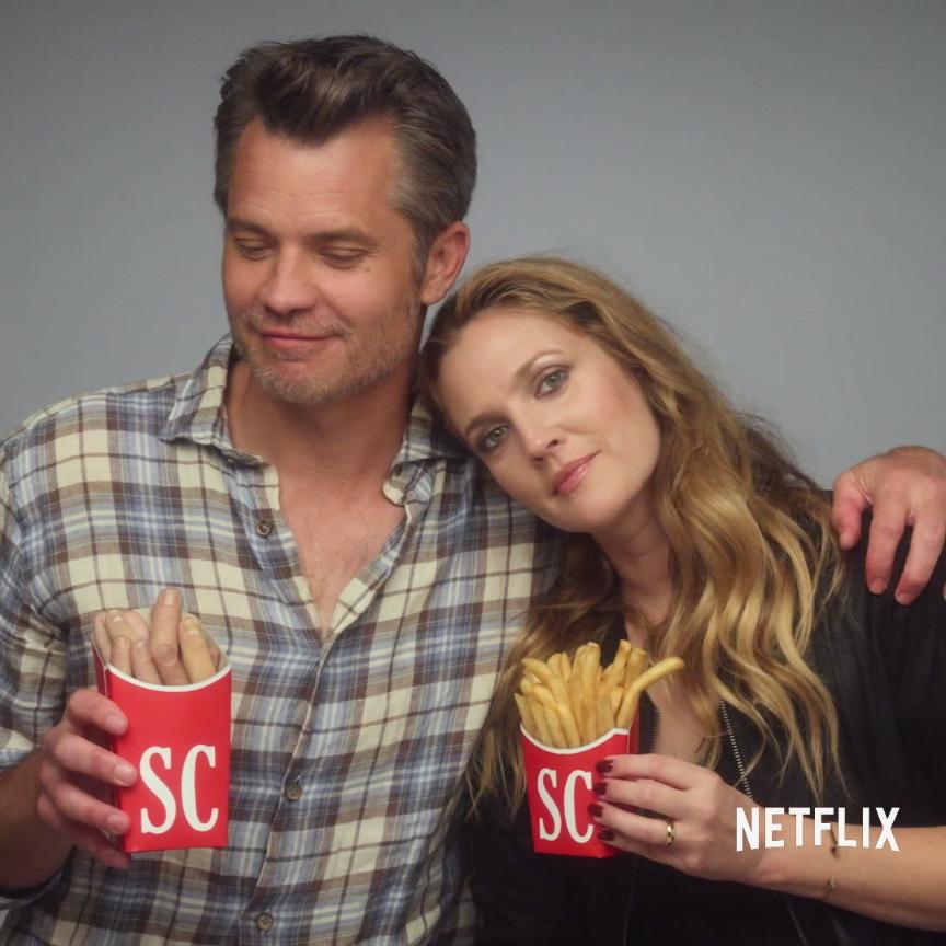 Bone appetit Santa Clarita Diet is now streaming on Netflix