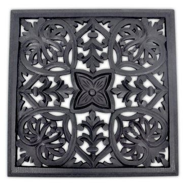 Check out this item at One Kings Lane! Demetra Wall Panel, Black