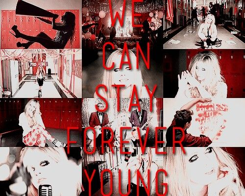 Here is to never growing up.