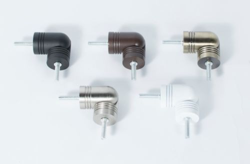 Details about Hinged Elbow Connector for corner or Bay