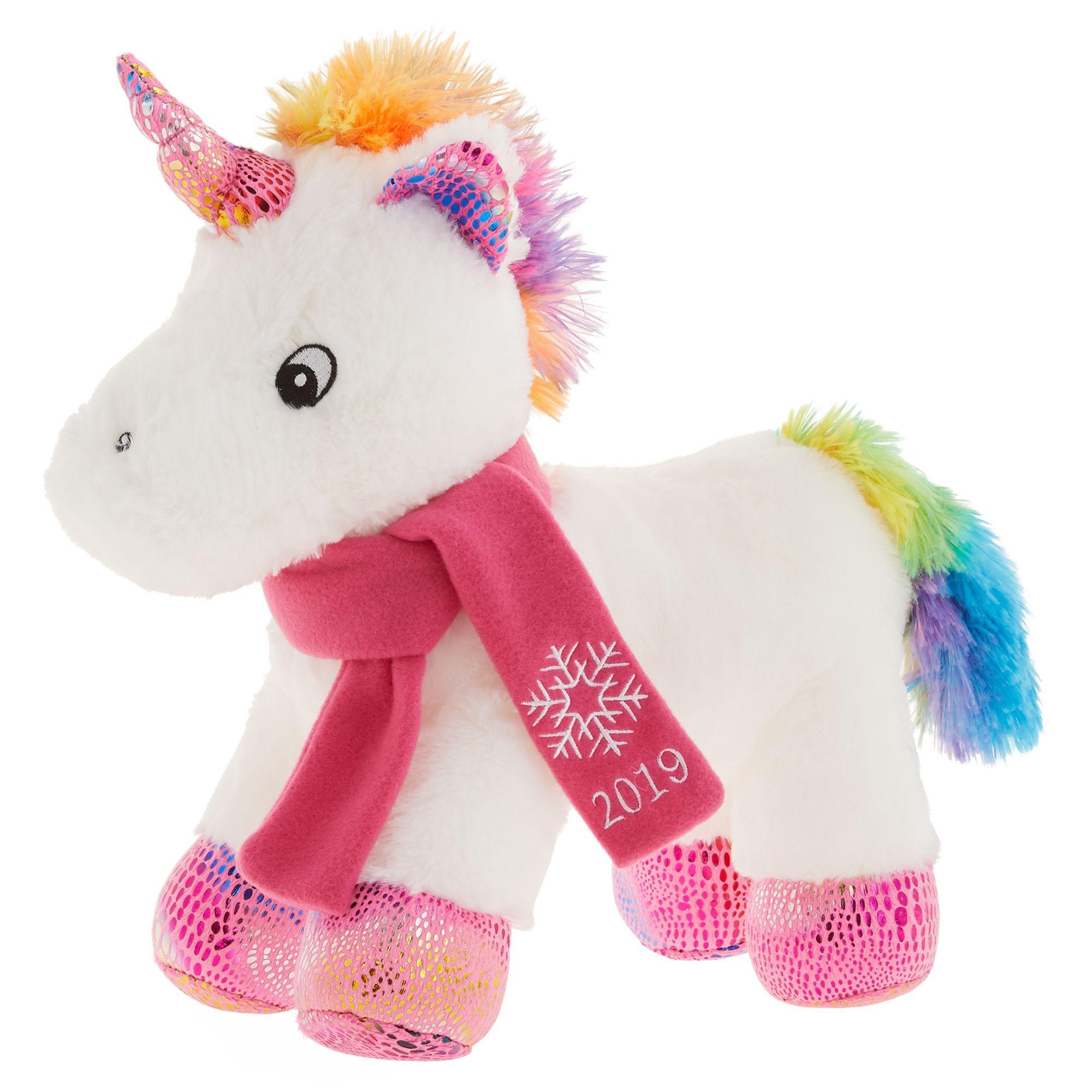 Petsmart Holiday Wish The Unicorn Dog Toy Plush Squeaker Size