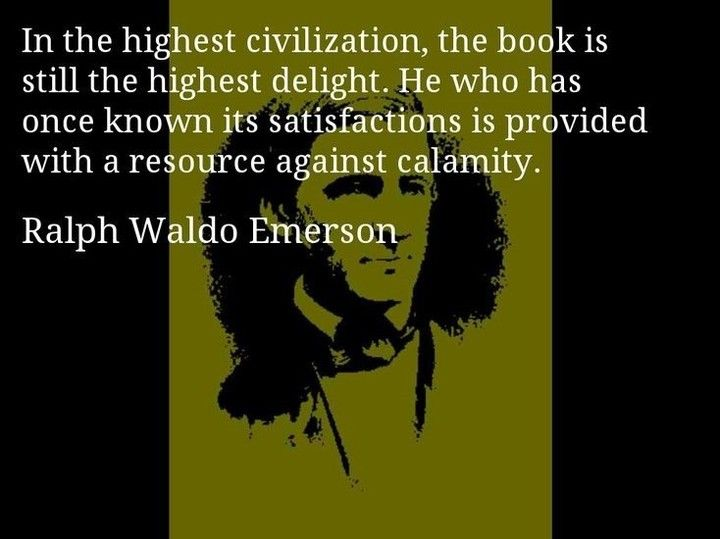 In the highest civilization the book is still the highest delight. #booksthatmatter #bookhugs #bloomingtwig #yourstory