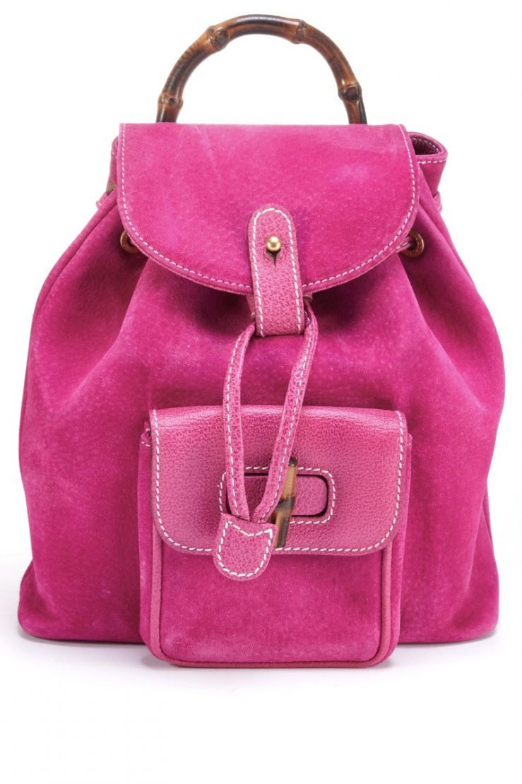 1ece900a038  lt p gt Gucci Small Suede Backpack lt  p gt  Authenticity