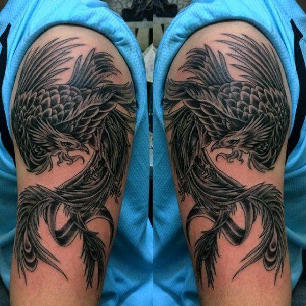 60 Phoenix Tattoo Designs For Men A 1 400 Year Old Bird Tattoos
