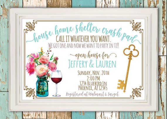 Are you having a #housewarming party?! Looking for cute - housewarming invitation template