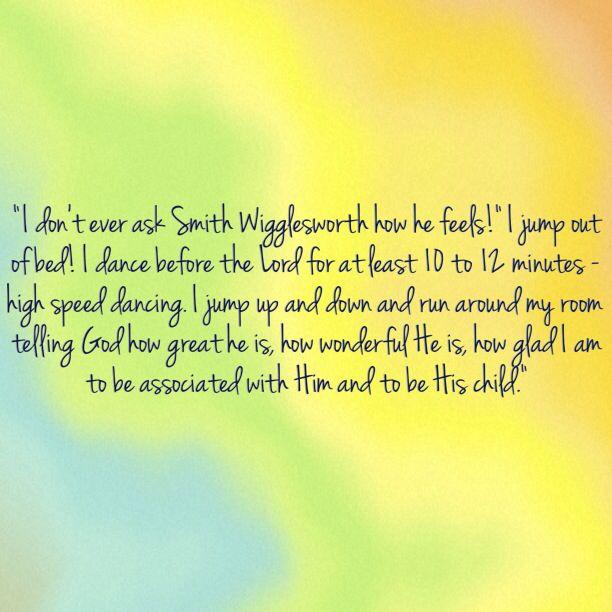 Smith Wigglesworth | Quotes | Pinterest