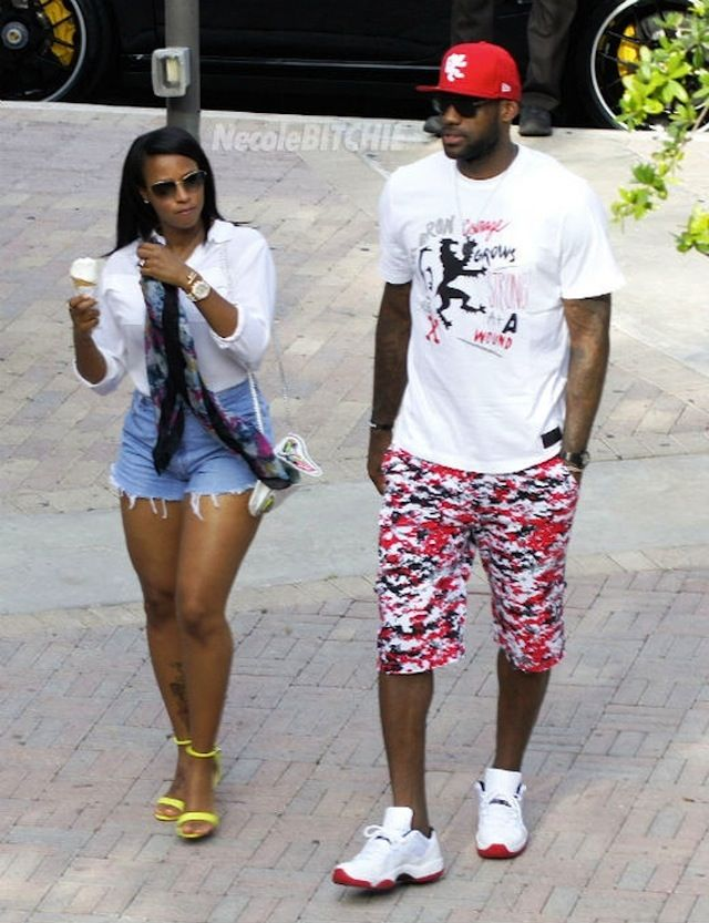 Photos: LeBron James & Savannah Brinson Ice Cream Date