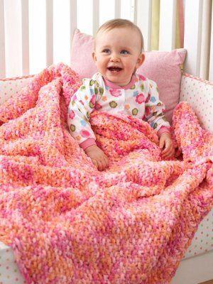 bb2fd647c Cuddly Seed Stitch Baby Blanket