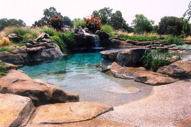 Natural Design Zero Entry in 2019 | Beach entry pool, Lagoon ...