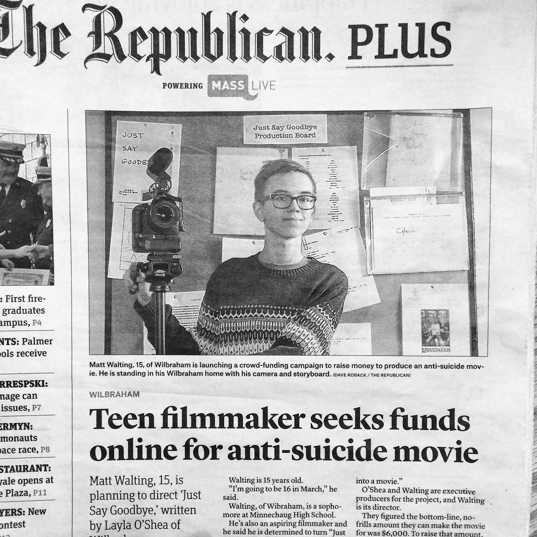 More press for our film. Yay. We now have a twotime Emmy