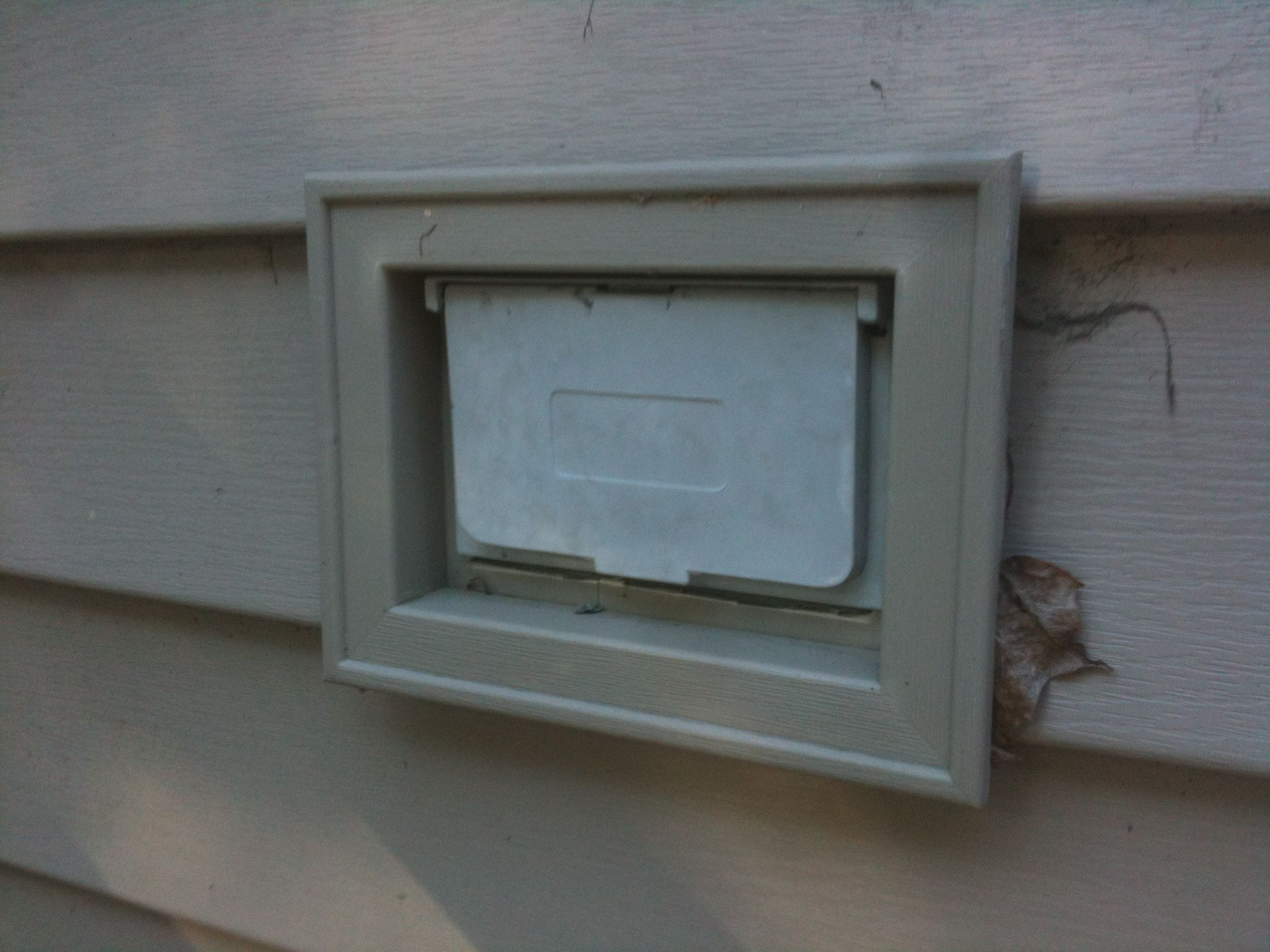 How To Attach Box Through Vinyl Siding And Use The J Box