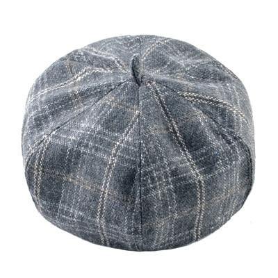 Classic Plaid Beret Hats For men Retro Style Flat Caps Man Autumn Winter  Warm boina masculina ec2479f71f2e
