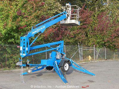 2003 Genie TZ34/20 34' Electric Towable Boom Lift Mobile Man Aerial Work 24V https://t.co/pTPj9C0F5R https://t.co/u8jsae2wq1
