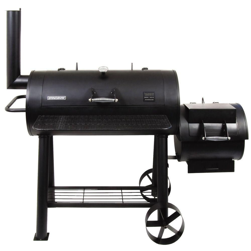 Brinkmann Trailmaster Limited Charcoal Smoker and Grill-855-6305-S ...