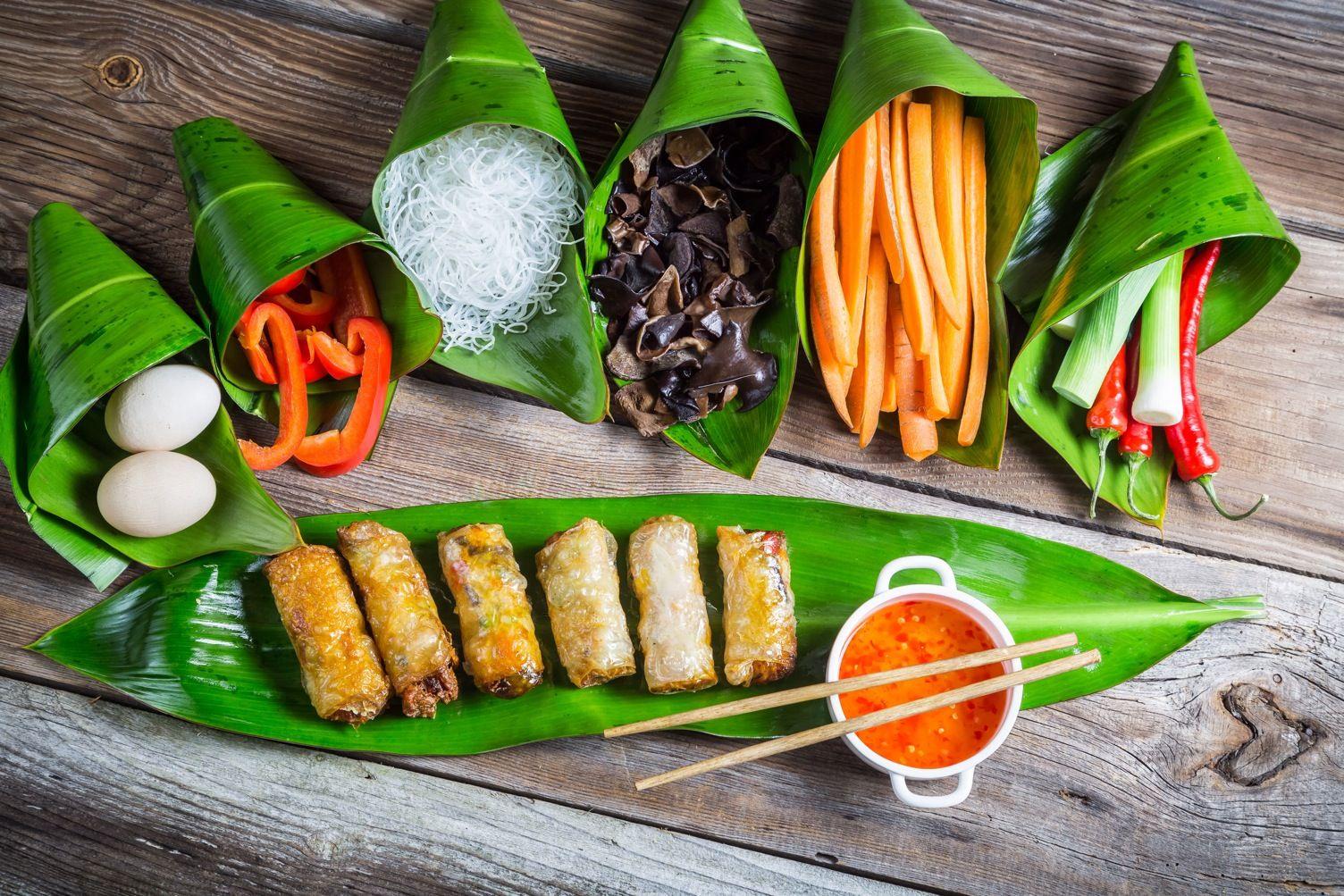 Genieen Sie edle traditionelle vietnamesische Kche in