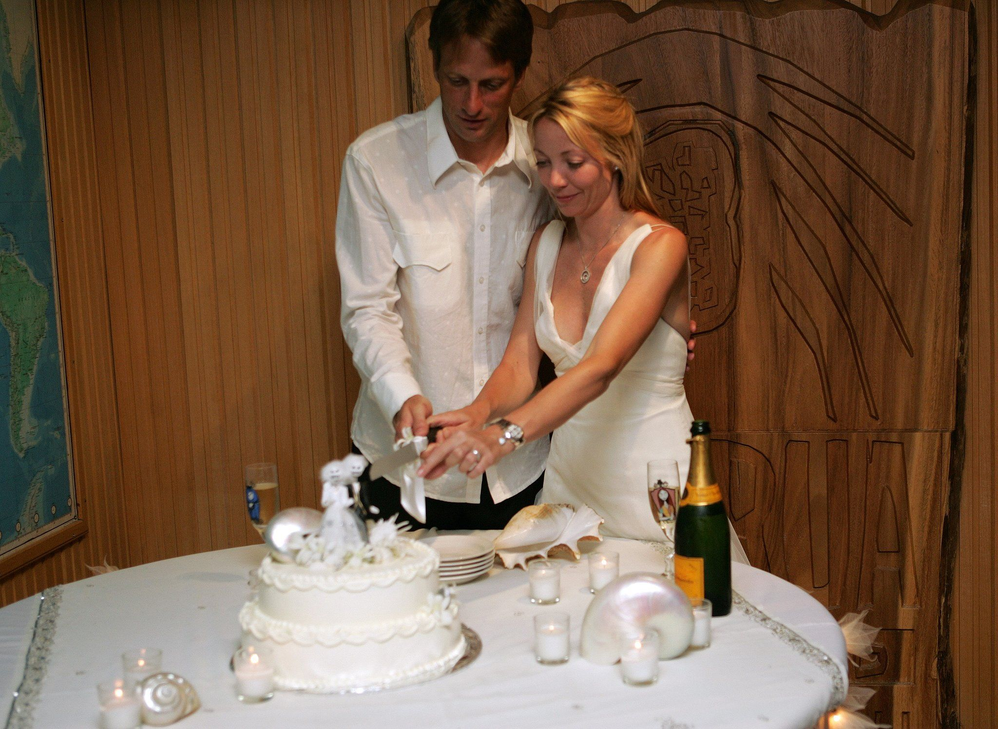 the ultimate celebrity wedding gallery tony hawk fiji and celebrity