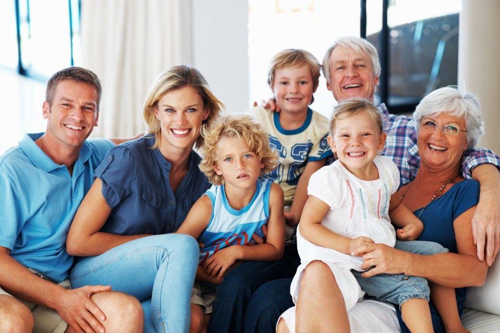 la casa che mette al centro la famiglia