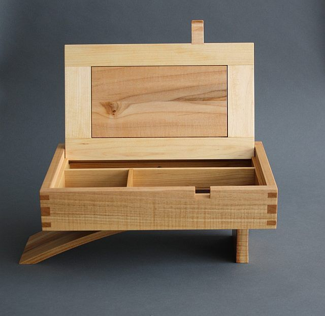 Cantilever Jewelry Box Readers Gallery Fine Woodworking Small