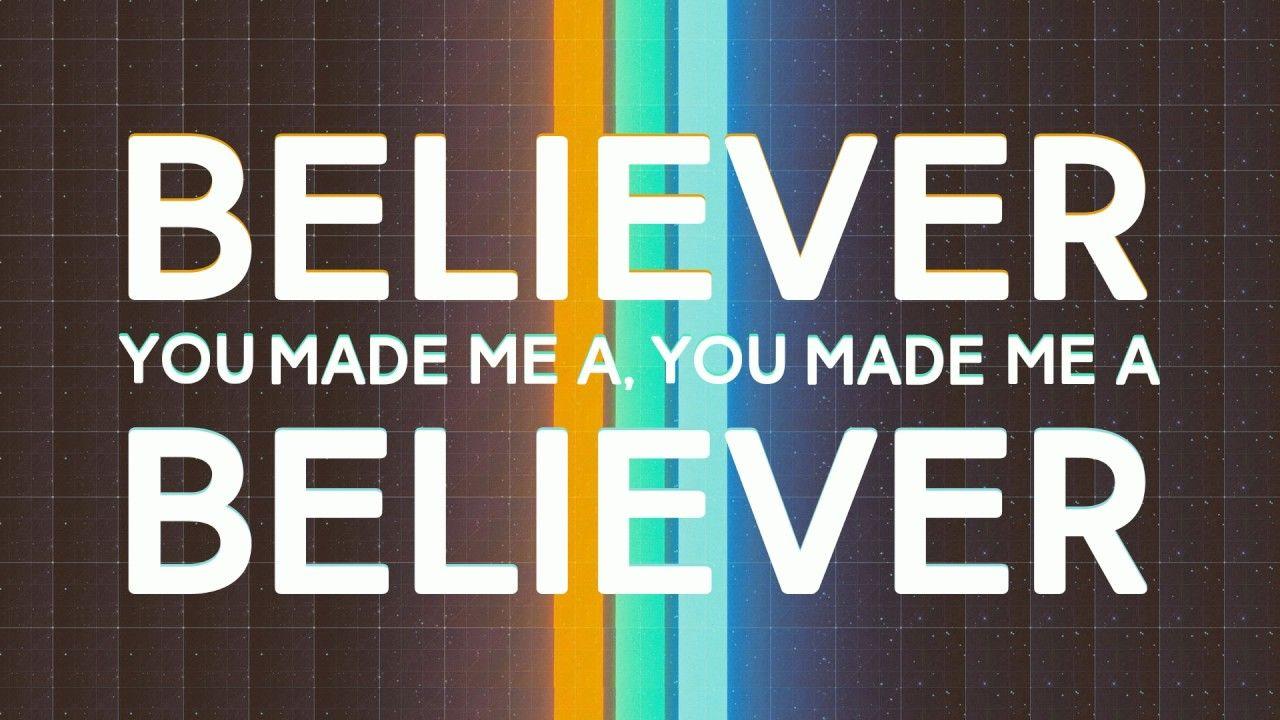 Imagine Dragons Believer Lyrics Video Imagine Dragons Lyrics Believe