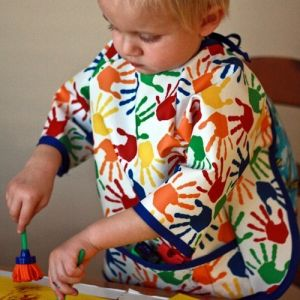 Art Smock Pattern by Peek-a-Boo Pattern Shop apron PDF
