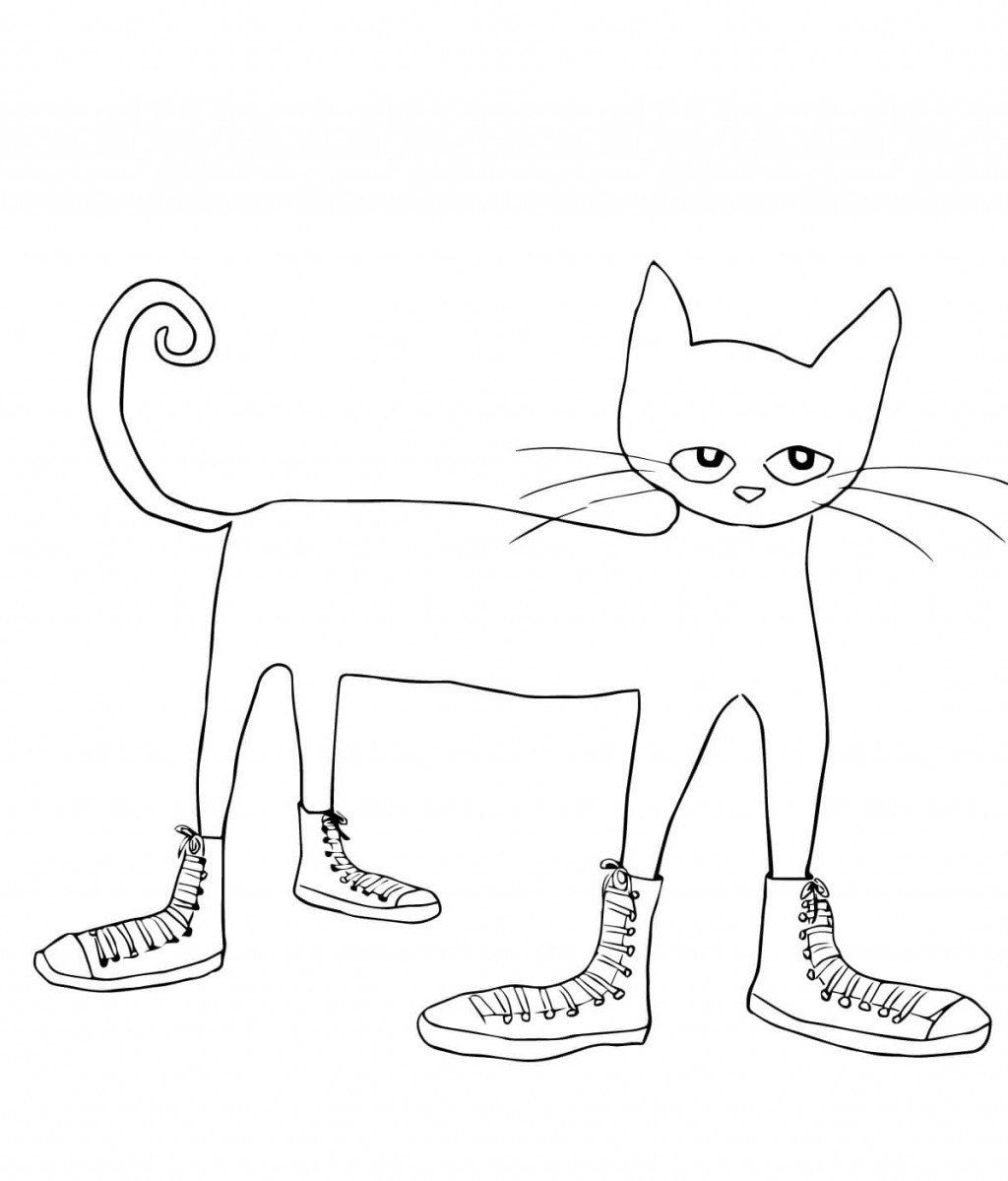 Pete The Cat Coloring Page Fresh Pete The Clipart Cat Clipart 128 Transparent Clip Arts Images And Pete The Cat Shoes Pete The Cat Buttons Pete The Cat