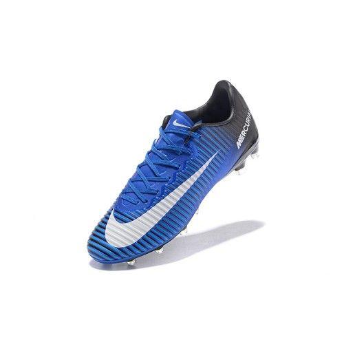 Nike Mercurial - Kopen Nike Mercurial Vapor XI AG-Pro Blauw Zwart
