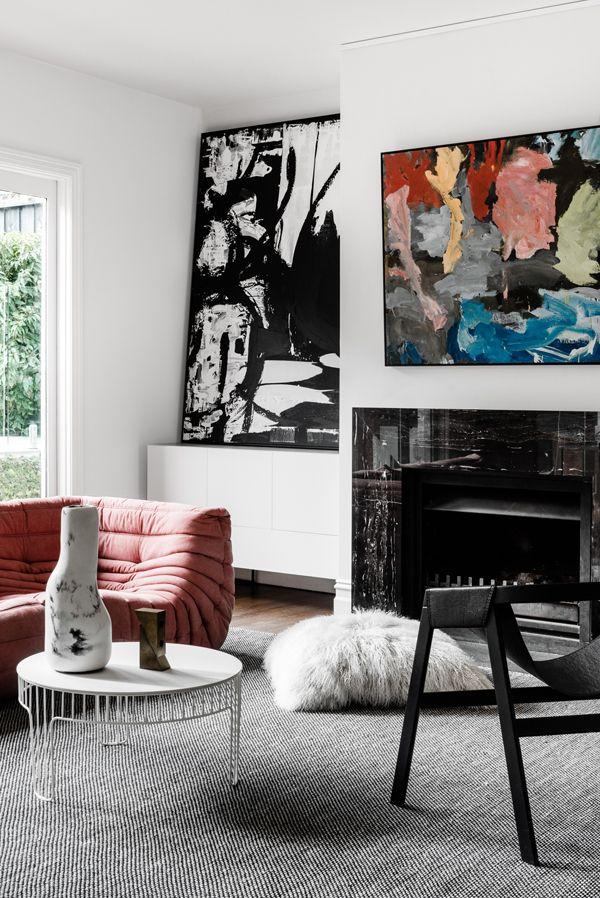 Meme Design East Hawthorn House Living Room Original ArtArt