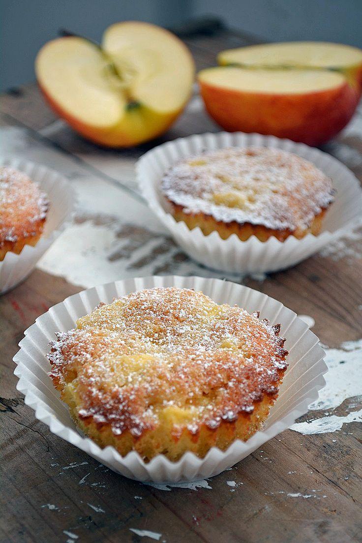 {Muffin Mittwoch} Marzipan Apfel Muffins - Der Kuchenbäcker