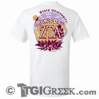 TGI Greek Tshirt - Zeta Tau Alpha - Mom's Day Shirt