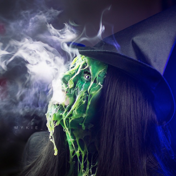 Mykie As The Melting Wicked Witch Of The West Cosplay By Mykie