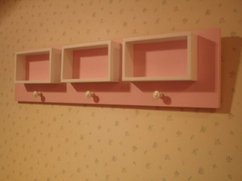 Estante perchero para ni os decoractual dise o y - Percheros infantiles de pared ...