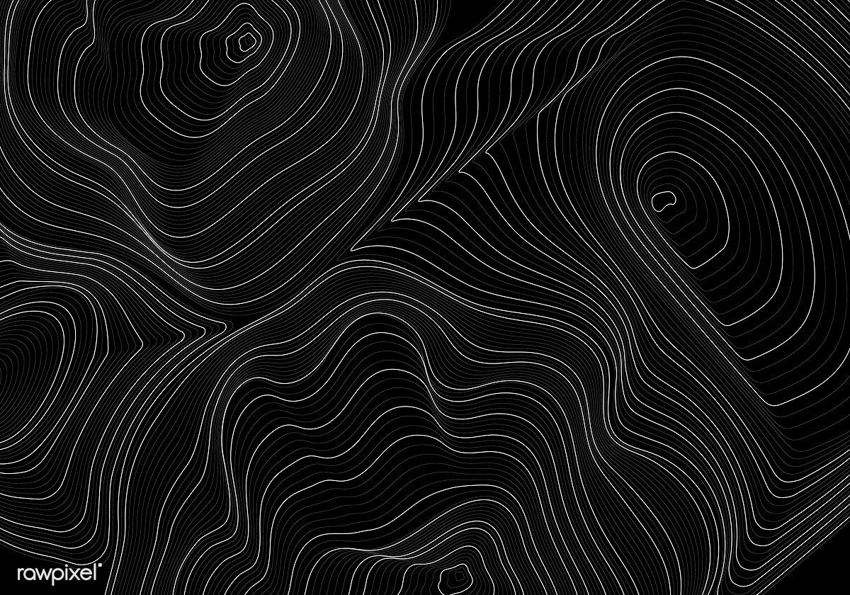 Download Premium Vector Of Black And White Abstract Map Contour Lines Contour Line Black And White Abstract Stock Images Free