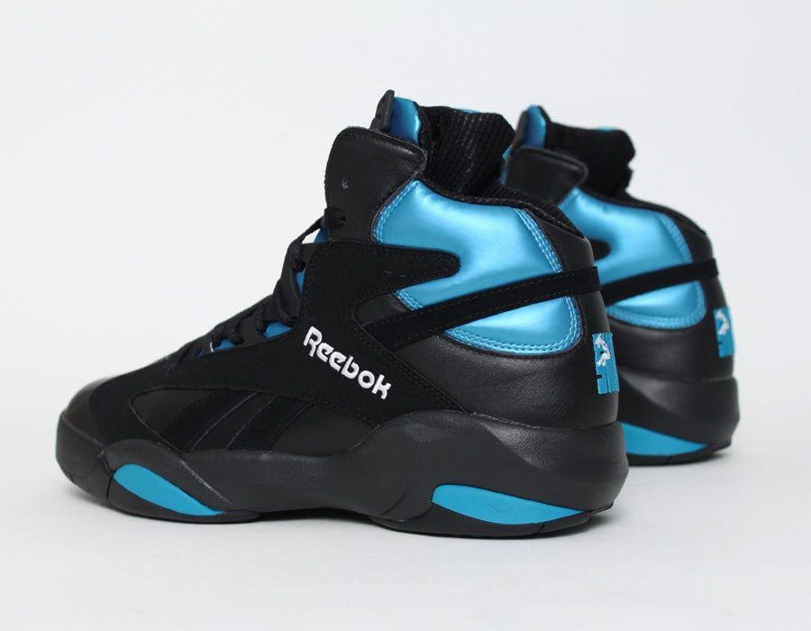 bf9a0afee928 Reebok  Shaq Attaq OG Black Azure Retro  Sneakers
