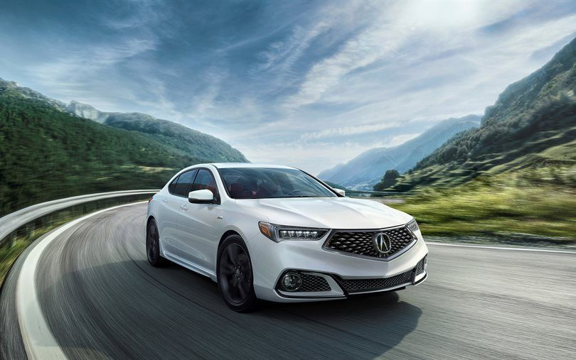 2018 acura android auto. perfect auto acura tlx aspec 2018 white sedan japanese cars and 2018 acura android auto