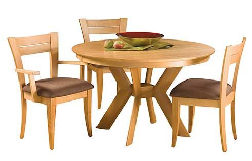 K Base Dining Table By Saloom