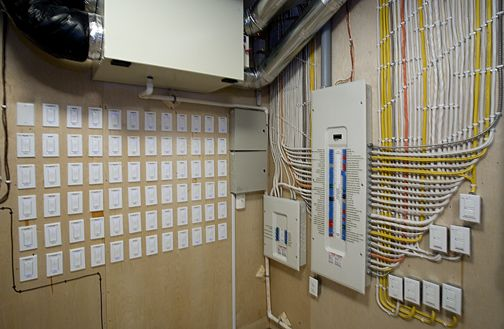 meticulously organized and labeled electrical panels building rh pinterest com