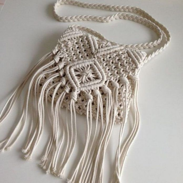 DIY Macrame Bag | Craft projects for every fan!