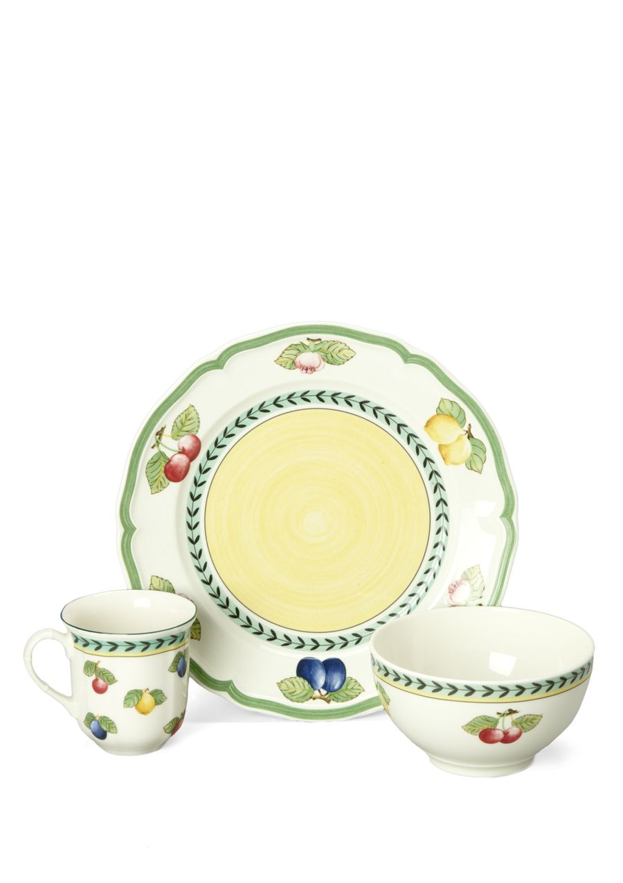VILLEROY U0026 BOCH 12 Piece French Garden Dinnerware Set