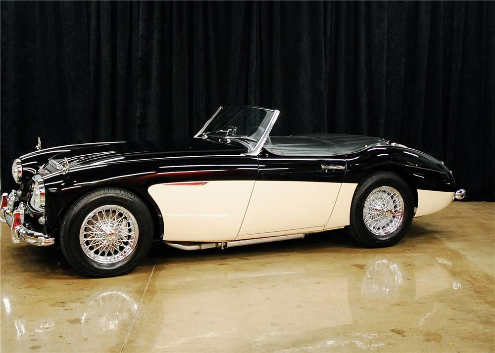 1962 Austin Healey 3000 Mark Ii Lot 942 Barrett Jackson Auction