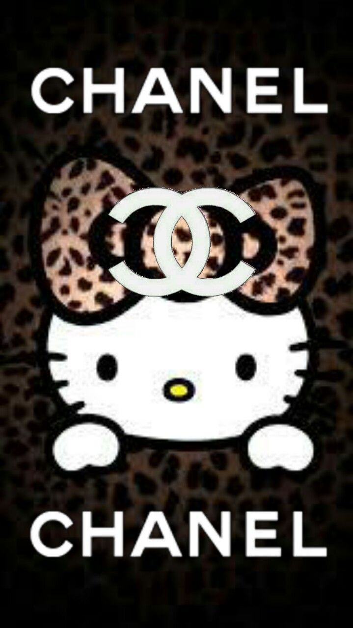 A Chanel All Image By Pipaonly Hello Kitty Backgrounds Hello