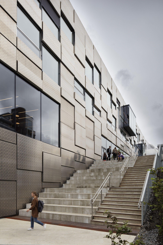 Faculty Of Fine Art Music And Design In Bergen Snohetta Archello Facade Architecture University Architecture School Architecture