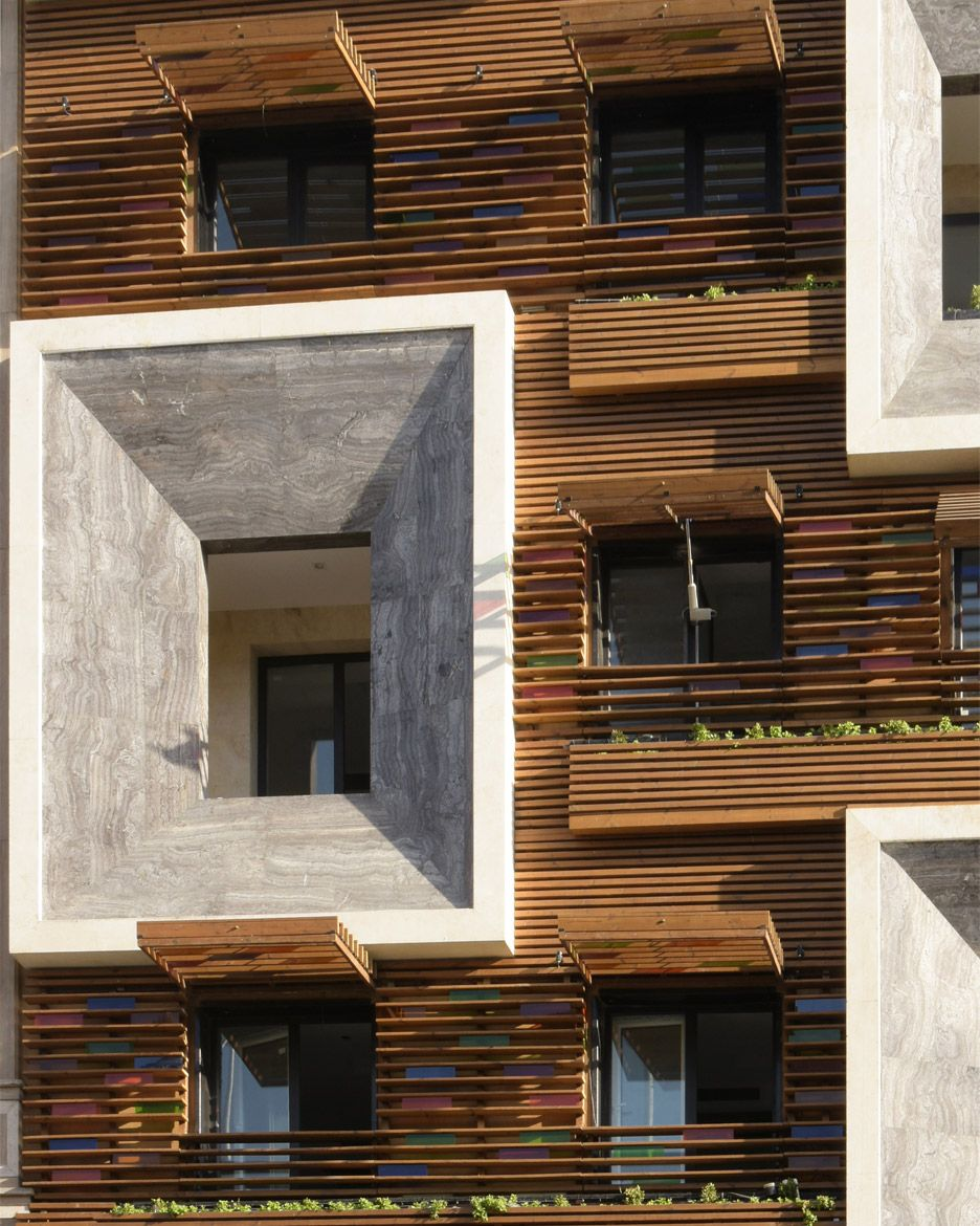 Apartment Block: Tehran Apartment Block By Keivani Architects Features