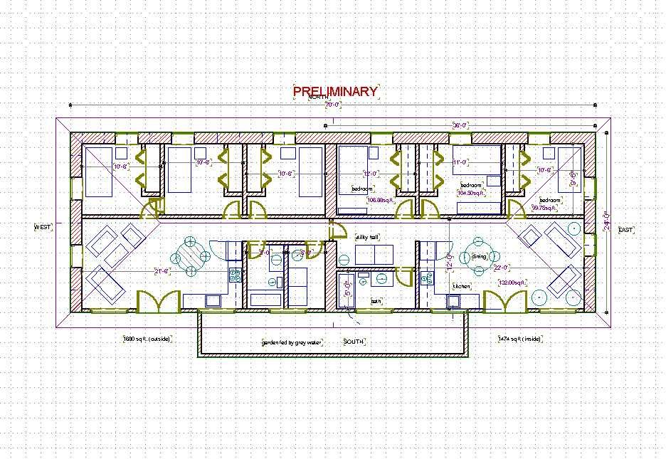 A Habitat For Humanity Straw Bale House Plan 726 Sq Ft Straw Bale House Green Architect Habitat For Humanity