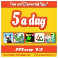 FREE APPS to start the week with a great storybook app by Snow Castle, a top apps for toddlers by Spinlight Studio; 2 math apps and some classic children book - See all offers